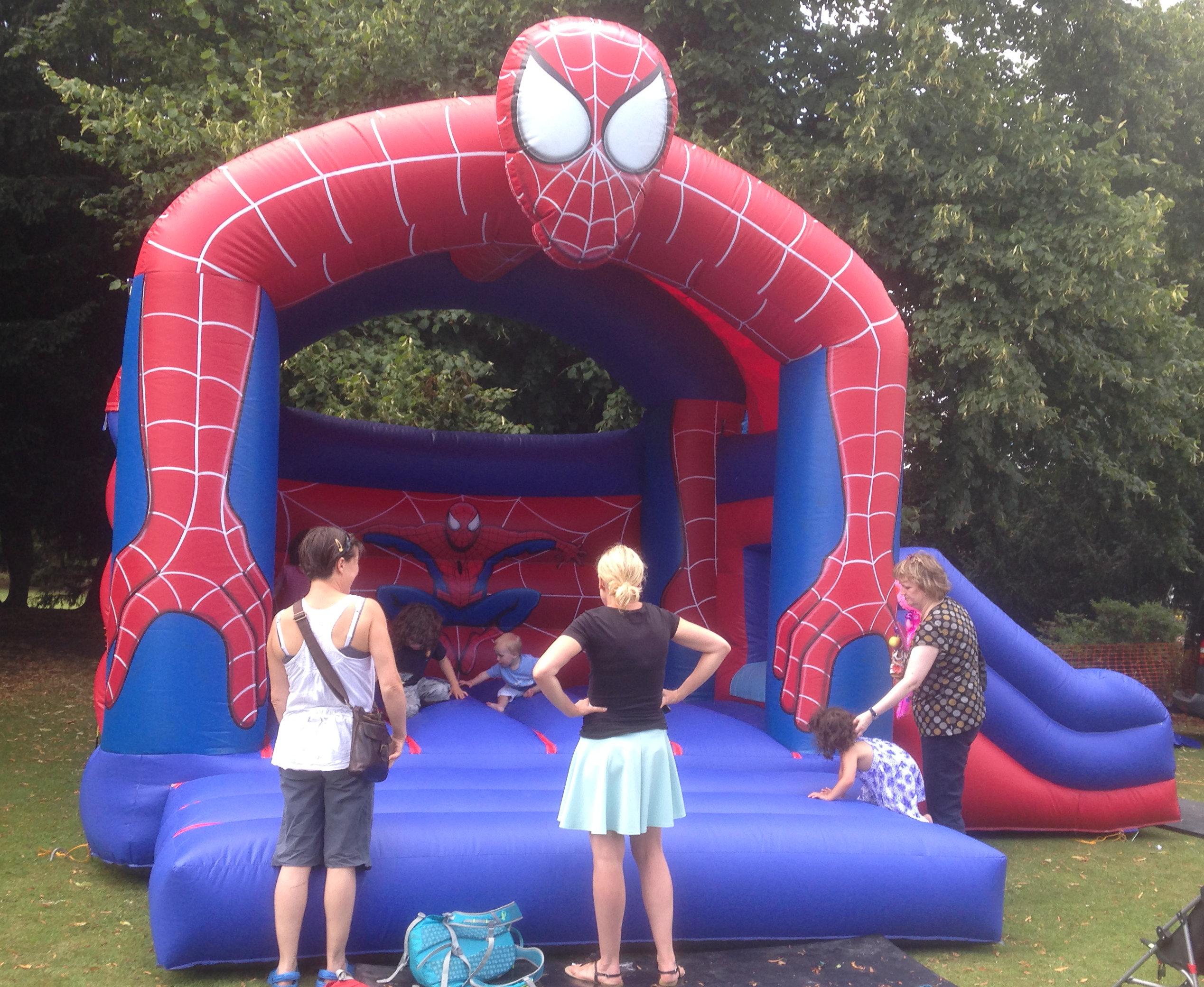 SpidermanwithSlide